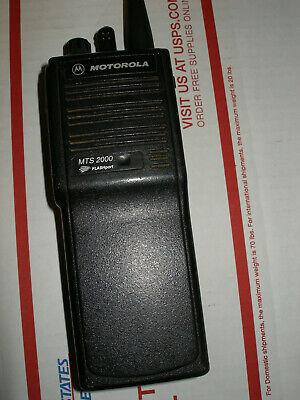 Motorola Mts2000 Uhf 403-470 Wfree Programming Ham Gmrs H01rdd9pw1bn