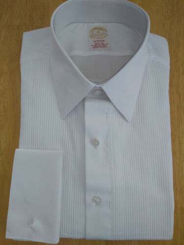 NWT Brooks Brothers Golden Fleece White Formal Shirt 16.5-36 Madison  MSRP $225