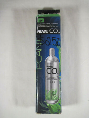 Fluval Pressurized CO2 Disposable Replacement Cartridge 95g Aquarium NEW