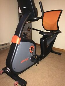 Indoor recumbent bike