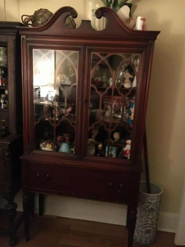 Antique China/Display Cabinet made by James McCreery & Co. New York