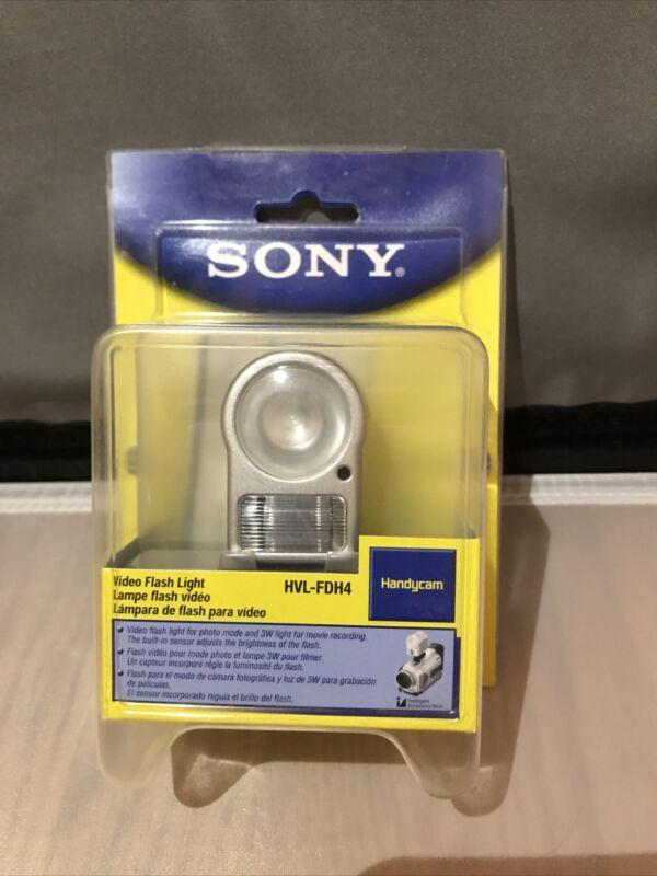 Sony Handycam Video Flash Light HVL-FDH4