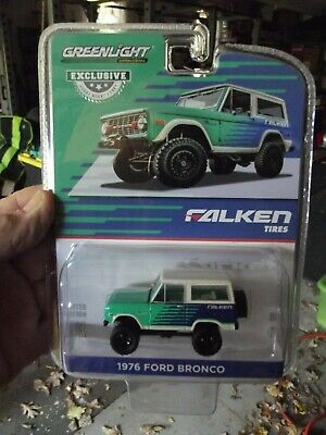 Greenlight 1/64 1976 ford bronco falken tires -