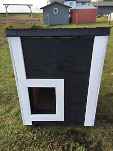 Insulated dog or cat house