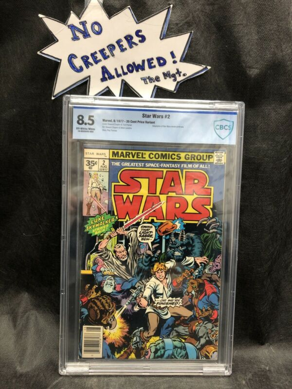 Star Wars #2 CBCS 8.5 (1977) - 35 Cent Price Variant - Very Rare High Grade