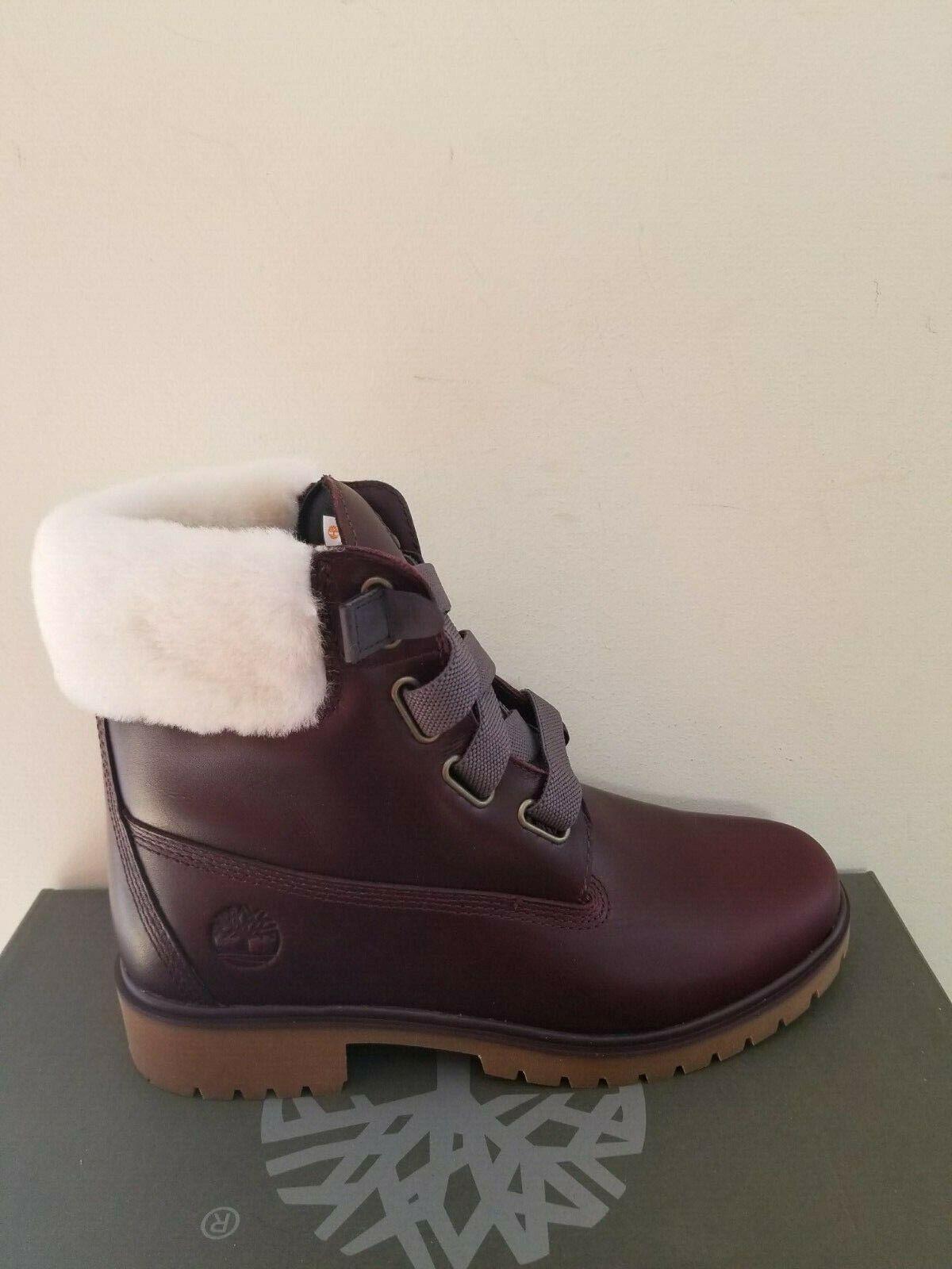 "Timberland Women's Jayne 6"" Waterproof Convenience Double Sole Premium Boots NIB"