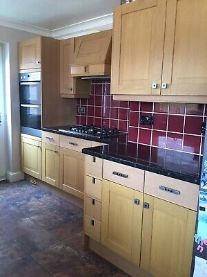Second Hand Kitchen Natural Oak