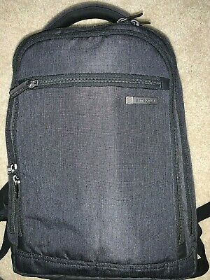 "Samsonite Modern Utility 15.5"" x 10.75"" x 6.0"" Small Backpack Charcoal"