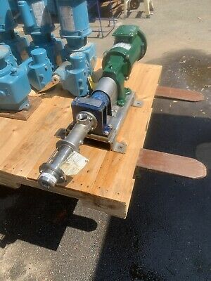 Seepex Pump With Reliance 12hp Motor