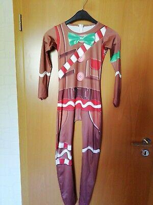 Lebkuchenmann Fortnite MERRY MARAUDER Kinder Kostüm ca. 8-9 Jahre