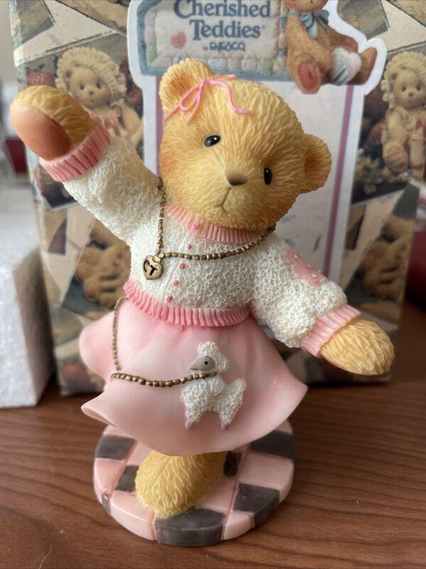 "Cherished Teddies Tammy ""Let's Go To The Hop"" #510947 NIB"