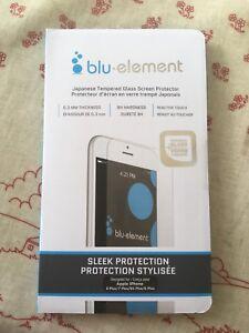 Vitre protectrice iPhone 6, 6s, 7, 8 (tous des plus)