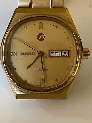 Vintage Rado Voyager Automatic Watch