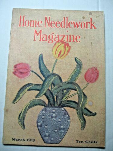 March 1915 Home Needlework Magazine