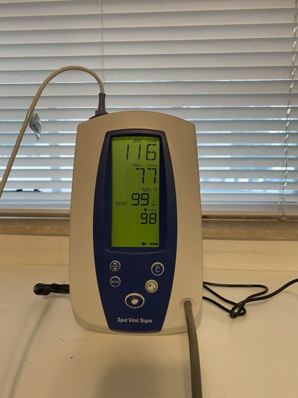 Welch Allyn 420 Series Spot Vital Signs Monitor Biomed Tested / Patient Ready