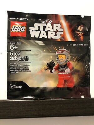Lego Star Wars Rebel A-Wing pilot Polybag Sealed!