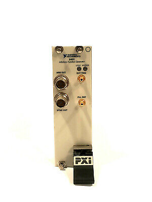 National Instruments Ni Pxi-5401 Arbitrary Function Signal Gen. Ni Daq Card