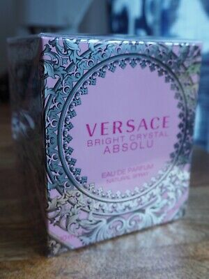 VERSACE  BRIGHT CRYSTAL ABSOLU Brand New Boxed Eau De Parfum Natural Spray 90 ml