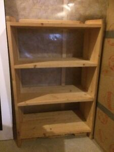 Hand made wood book shelf  Edmonton Edmonton Area image 1