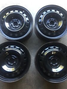 "5 by 100mm 16"" winter rims"