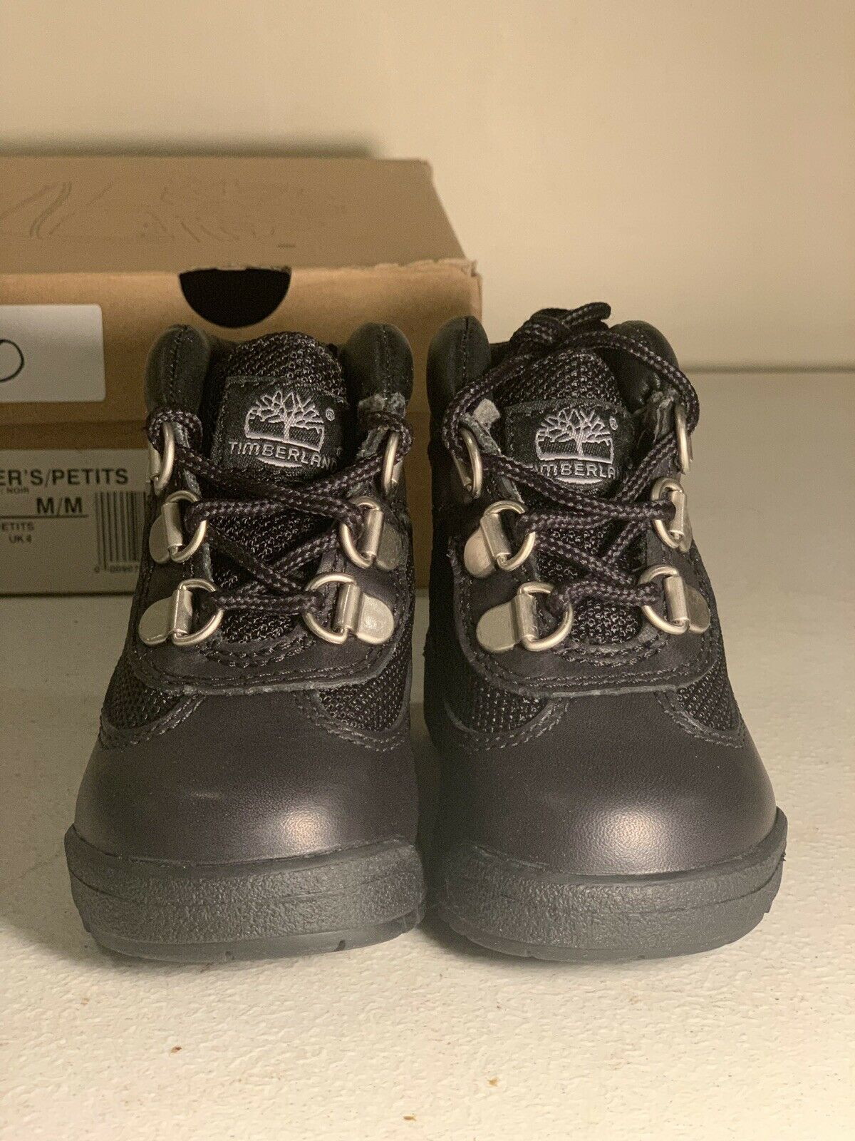 Brand New Timberland Field Boot Black Infant Size 4.5c