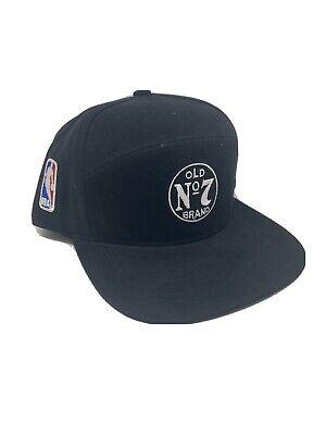 Jack Daniels Old No 7 Brand NBA Black Snap Back Hat