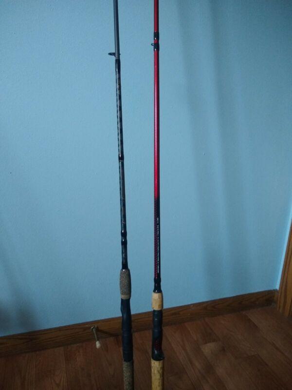 Berkley Fishing Rods - Lot of 2 - Lightning and Cherrywood Rod