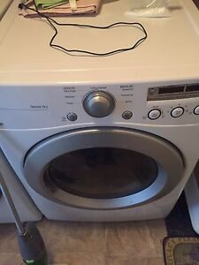 Almost new front loading washer and dryer