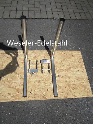 Sliphilfe / Stabilere Variante / Trailerbegrenzung / Einfahrhilfe / Bootstrailer