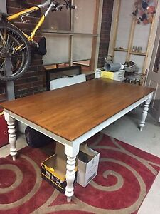 Country style solid wood dining table 8 - 10 seater Berwick Casey Area Preview