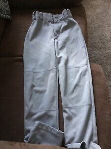 Youth (medium) Baseball pants - light grey.