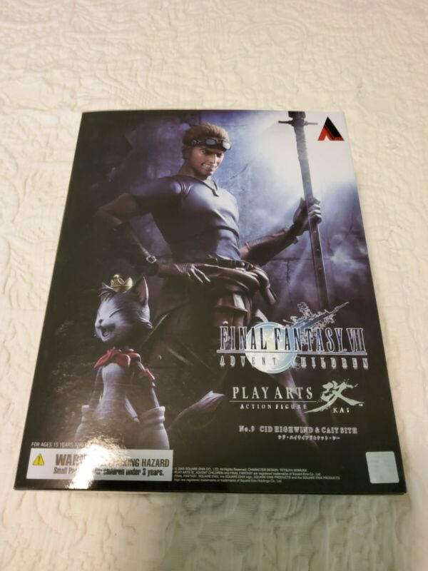 Square Enix Play Arts Kai Final Fantasy 7 Advent Children Cid