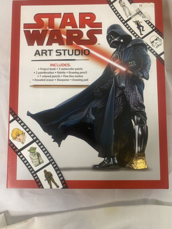 Star Wars Art Studio by Editors Of Thunder Bay Press 9781684122134