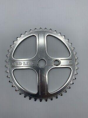 GT NOS DIAMOND PLATE BLACK SPROCKET BMX OLD MID SCHOOL 44T MACH ONE DYNO  VINTAG