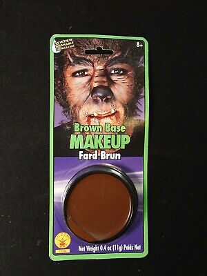 Makeup Based Halloween Costumes (Brown Base Makeup Halloween Costume Werewolf)