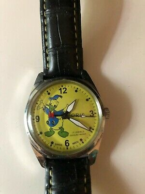 Vintage Oris Donald Duck Wristwatch