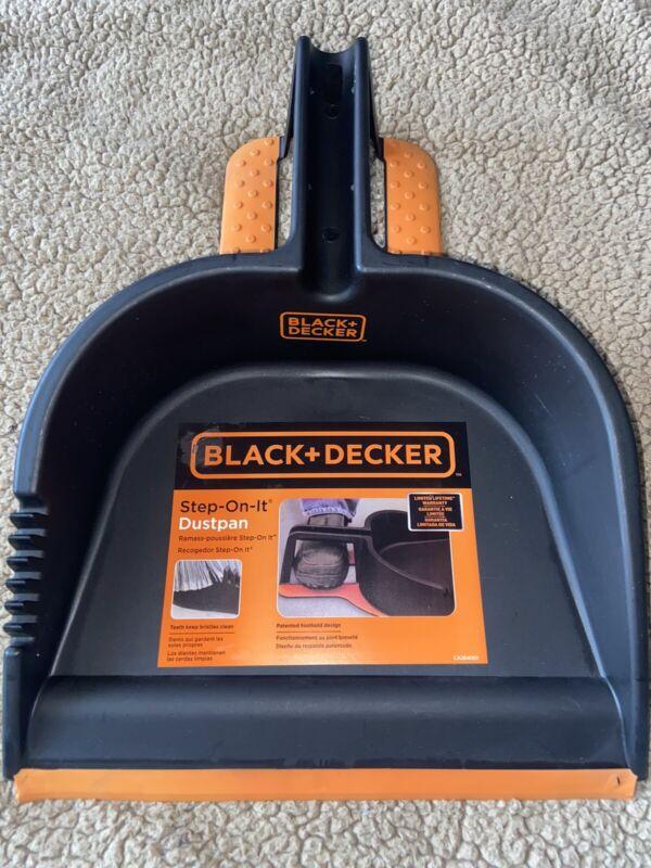 Black & Decker Brand Foot Dust Cleaning Pan Step On It Work Shop Heavy duty