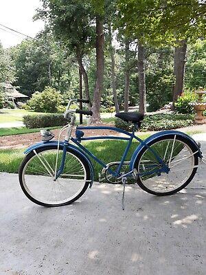 Vintage 1940s R L Macy Cyclone  60 Bicycle ~ Westfield?