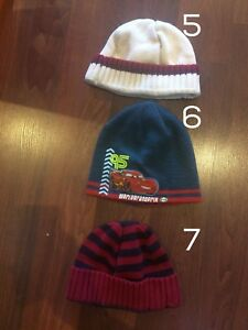 Toddler size 2/3 winter hats EUC