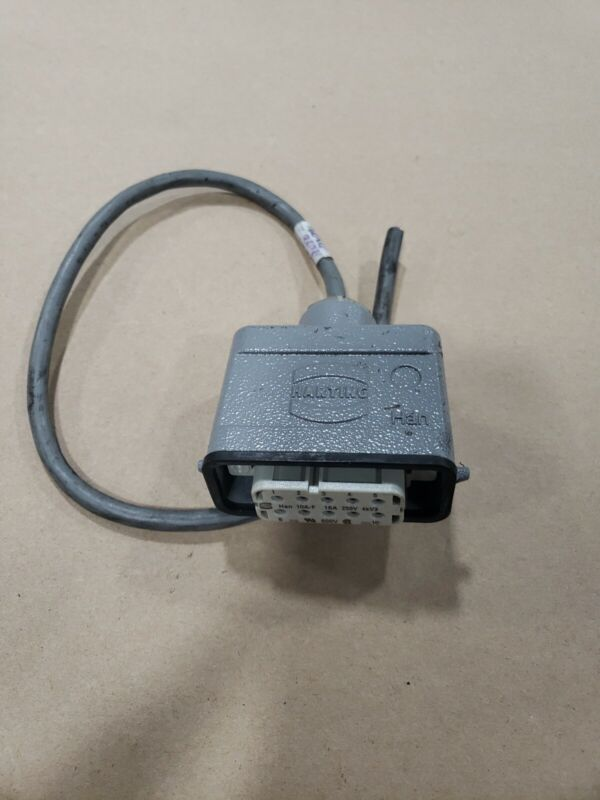 Harting Plug Han 10A-F #30F21