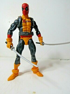 "MARVEL LEGENDS SAURON BAF SERIES DEADPOOL 6"" action figure"