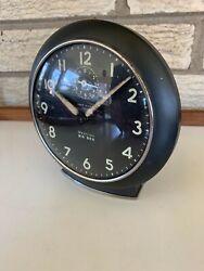 Vintage Westclox Big Ben Loud Alarm Deco Machine Age Gray Clock