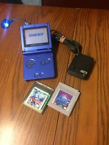 Vintage 2002 Nintendo Game Boy Advance SP Video Game Console