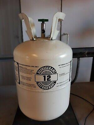 R12 Refrigerant 10.5 Pounds 30lb. Cylinder Cylinder Jug Tank Automotive