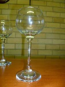 3 HI BALL ORREFORS WINE  GLASSES - $5 INCLUDES ALL 3. New Lambton Heights Newcastle Area Preview