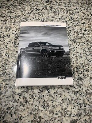 2019 FORD F150 F-150 TRUCK FACTORY OWNERS MANUAL + NAVIGATION ALL MODELS OEM