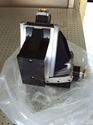 Unused Newport 2-axis Goniometric Pitch Roll Stage Cradle Rotation Zygo
