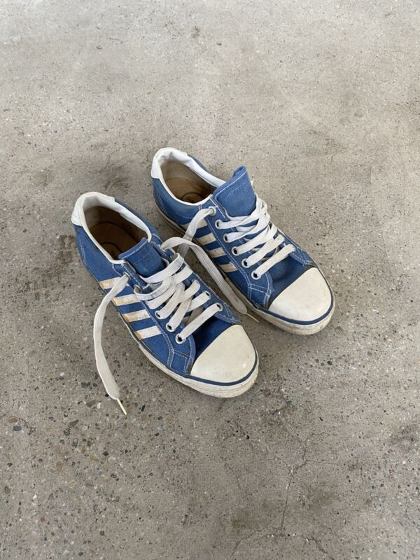 Vtg 70's Converse The Winner Style Shoes Sneakers Made In USA Mens US 8.5