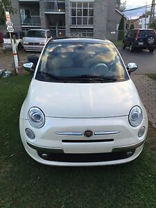 Fiat500C 2012 Sun roof , leather seats 85000km