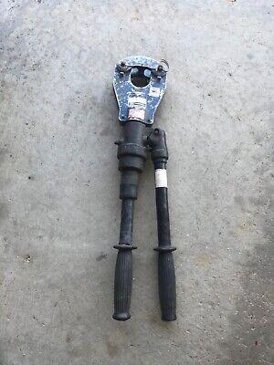 Anderson Versa Crimp Vc-6 Ft Manual Hydraulic Dieless Crimper 4 Quad Point